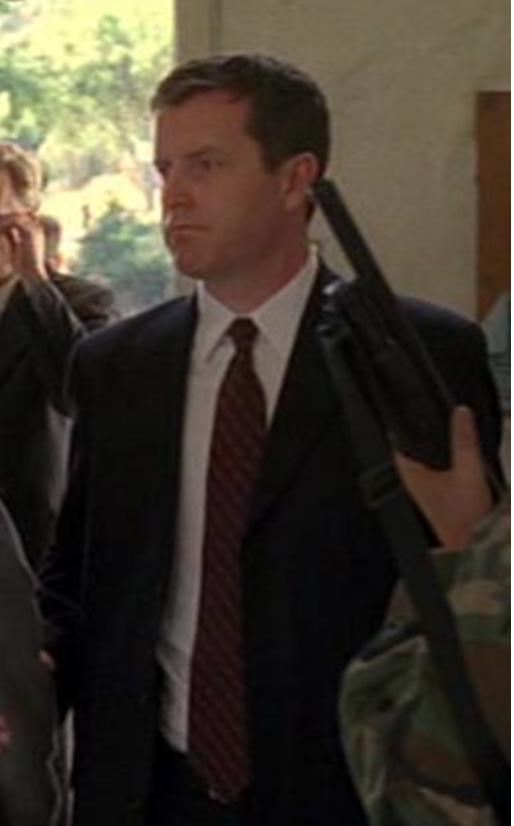 """Kevin Gregg doing extra work on the set of """"24"""" (FOX) circa 2006"""