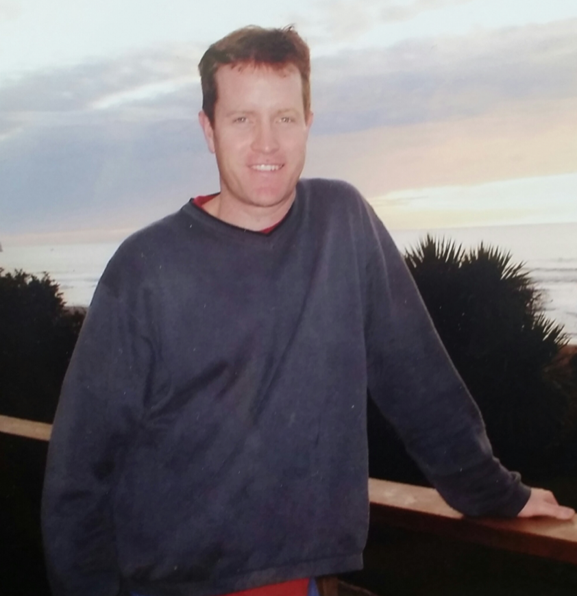 Kevin in 2005 just before 11 months of unemployment